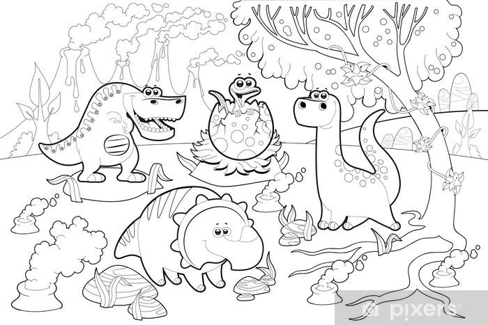 Vinilo Pixerstick Dinosaurios Divertidos En Un Paisaje Prehistorico Blanco Y Negro Pixers Vivimos Para Cambiar Editorial noroeste blanco y negro s.a. vinilo pixerstick dinosaurios divertidos en un paisaje prehistorico blanco y negro pixers vivimos para cambiar