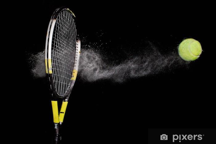 Fototapet Tennis racket och boll • Pixers® - Vi lever för förändring 38fee12dc11c4