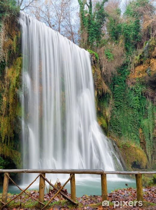 Fototapete Wasserfall Am Monasterio De Piedra Zaragoza Spanien Pixers Wir Leben Um Zu Verändern