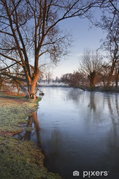 Fototapeta winylowa Rzeka avon - Krajobraz wiejski