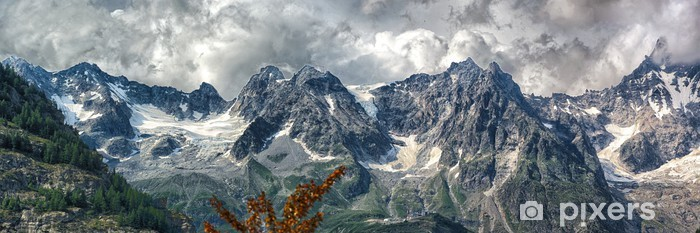 Courmayeur view Vinyl Wall Mural - Europe