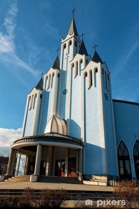 Sticker Pixerstick Église - Bâtiments publics