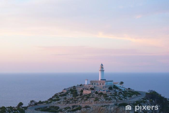 Sticker Pixerstick Le phare sur l'île de Majorque, Espagne - Europe