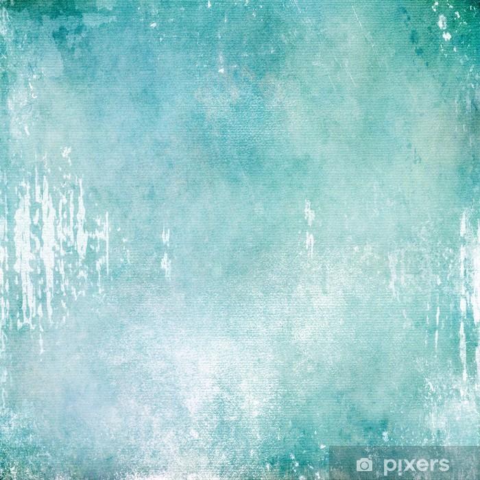 Plakat Streszczenie turkus tekstury tła - Tła