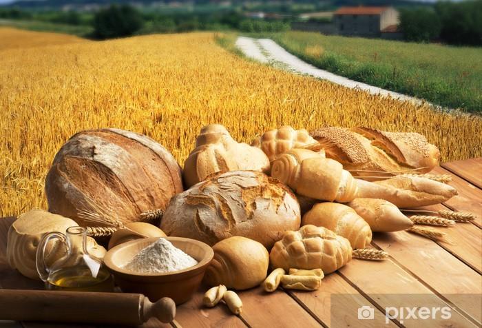 Naklejka Pixerstick Chleb - Posiłki