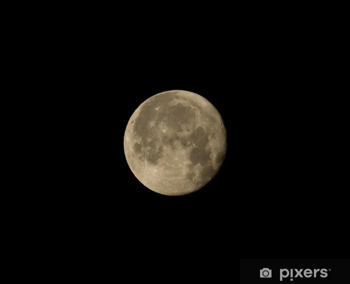 Vinilo Pixerstick Cuarto menguante Luna • Pixers® - Vivimos para cambiar