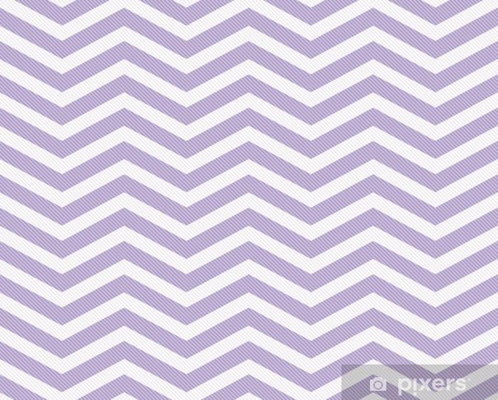 Papier peint vinyle Mauve et Blanc Zigzag tissu texturé fond - Styles
