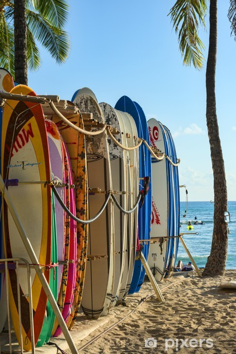 Naklejka Pixerstick USA-Hawaii-Oahu-7982 - Wakacje