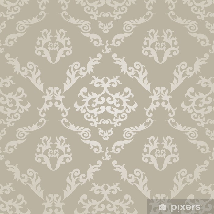 Seamless Geometric Pattern in Islamic Style. Pixerstick Sticker - Raw Materials