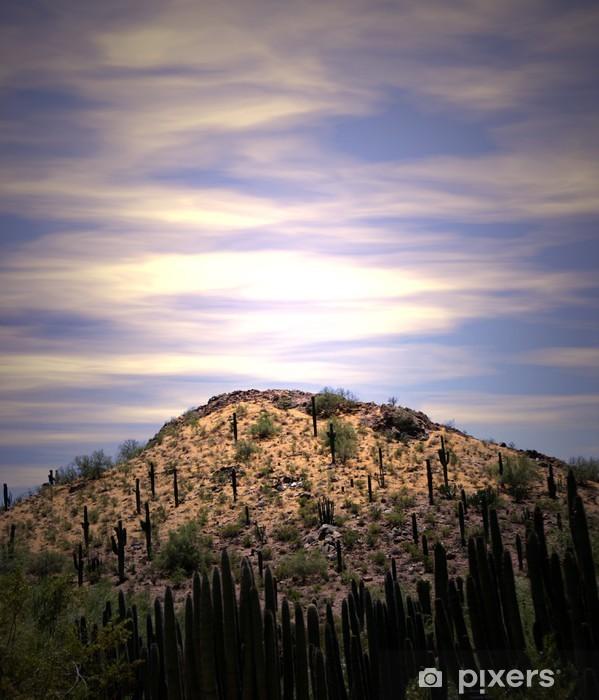 Fototapeta winylowa Desert sunrise - Niebo