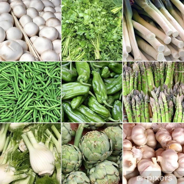 Plakat Francja - rynek warzyw - Tematy