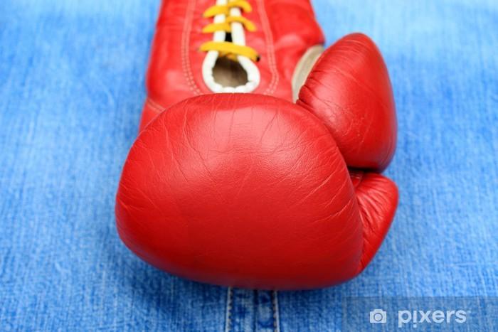 Nálepka Pixerstick Boxerské rukavice - Témata
