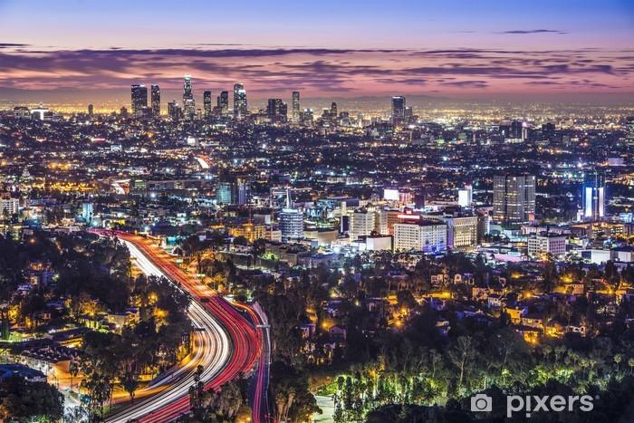 Papier peint vinyle Downtown Los Angeles, Californie Skyline - Thèmes