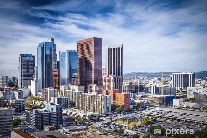 Fototapeta winylowa Downtown Los Angeles, Kalifornia Skyline - Tematy