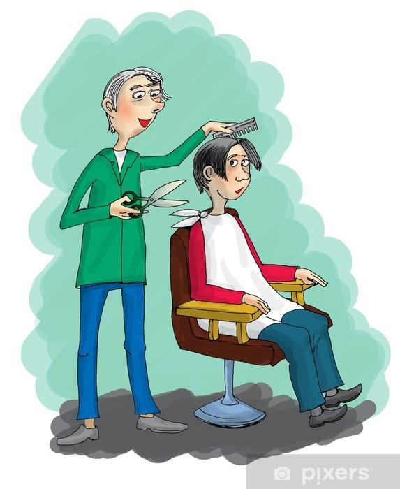 Мужчина парикмахер картинки для детей