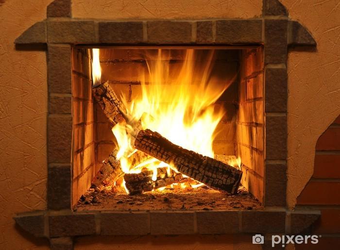 Vinilo Pixerstick Fire place - Temas