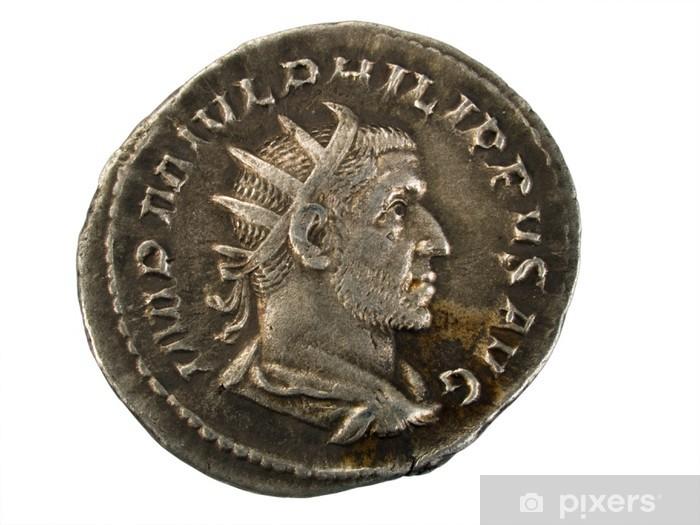 8f0f74cb7 Fototapeta Starověké římské mince Silver • Pixers® • Žijeme pro změnu