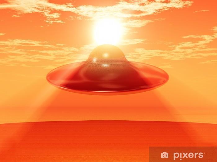 Naklejka Pixerstick UFO - Przestrzeń kosmiczna