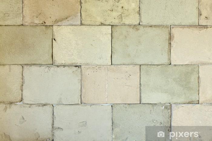Old Big Brick Wall Door Sticker Pixers We Live To Change
