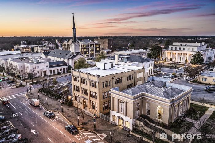 Fotomural Estándar Athens, Georgia Vista de población - América