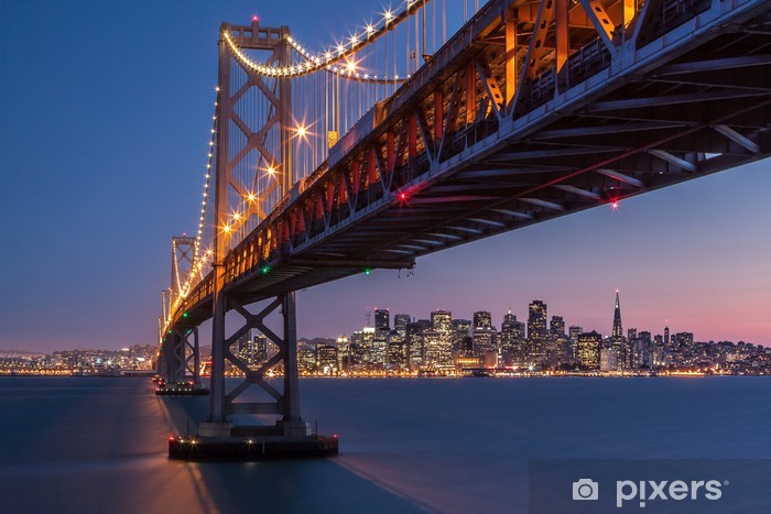 Framing San Francisco Pixerstick Sticker - Themes
