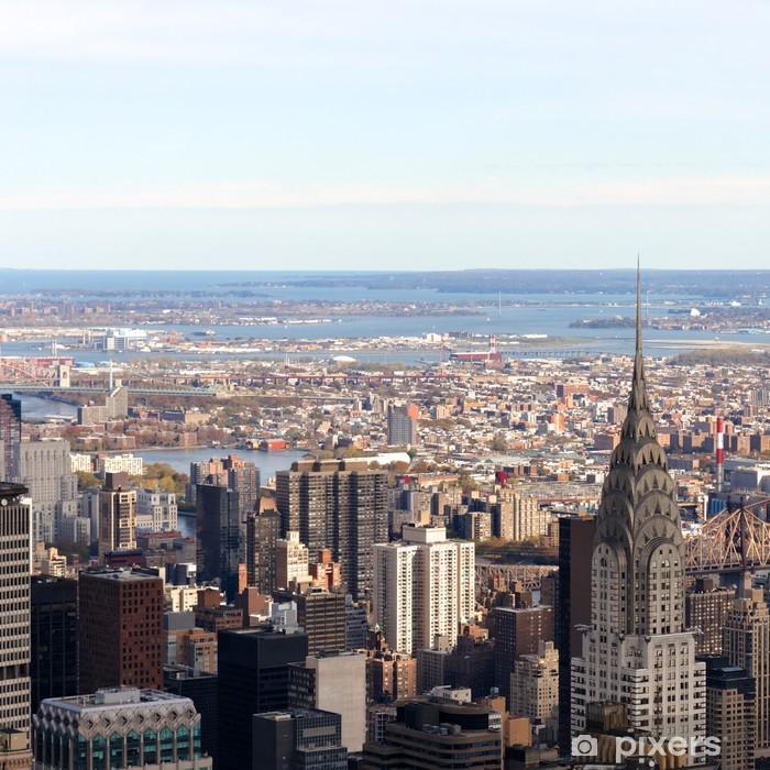 Papier peint vinyle Paysage urbain de Manhattan - Villes américaines