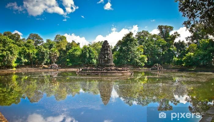 Naklejka Pixerstick Neak Pean buddyjskiej świątyni, Siem Reap. Kambodża. - Azja