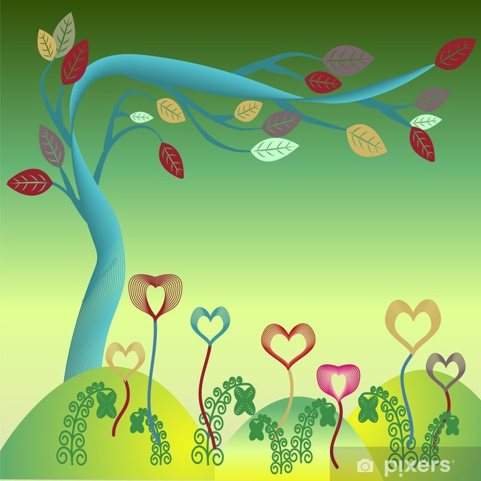 Papier Peint Arbre Carte De Vœux Joyeux Anniversaire Pixers Nous Vivons Pour Changer