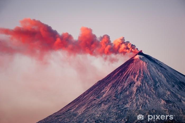 Vinylová fototapeta Aktivní vulkán - Vinylová fototapeta