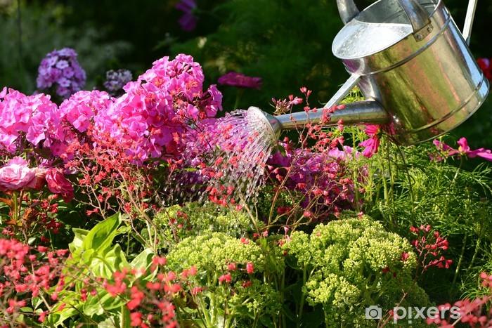 Vinyl-Fototapete Garten 88 - Blumen