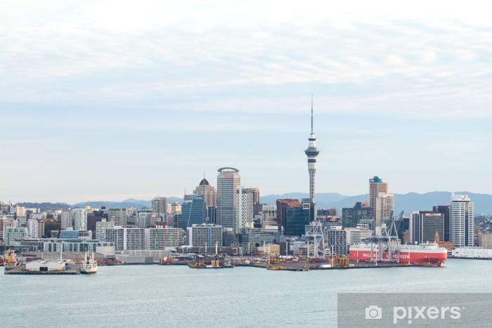 Vinil Duvar Resmi Auckland, Yeni Zelanda - Şehir