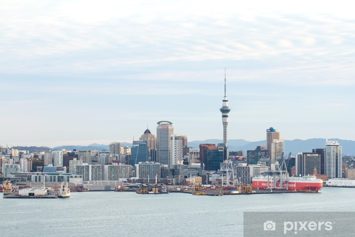 Fototapeta winylowa Auckland, New Zealand - Pejzaż miejski