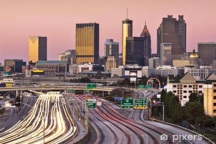 Fotomural Estándar Atlanta, Georgia Skyline - América