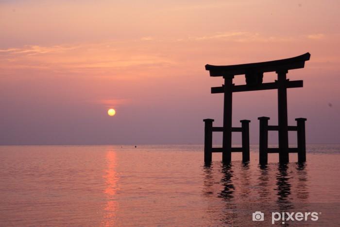Nálepka Pixerstick Shirahige Jinzya v Biwako, Japonsko - Asie