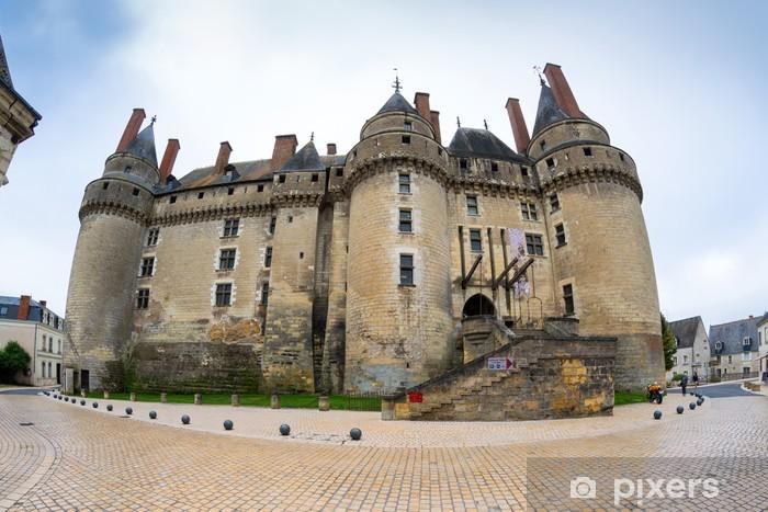 Papier peint vinyle Le château de Langeais, France - Monuments