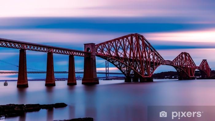 Fototapeta zmywalna Forth Bridge Edynburg - Tematy