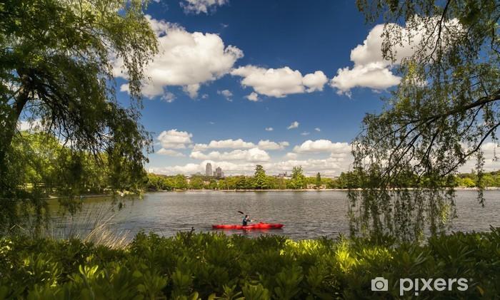 Carta da Parati in Vinile Lake Country House - Città europee