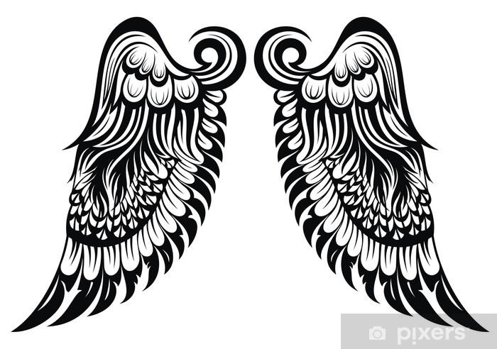Carta Da Parati Ali D Angelo Disegno Del Tatuaggio Pixers