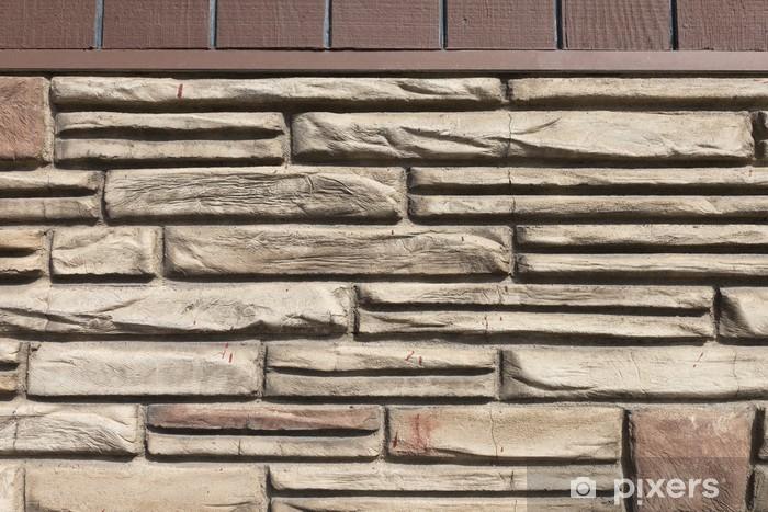 Naklejka Pixerstick Mur - Przemysł ciężki
