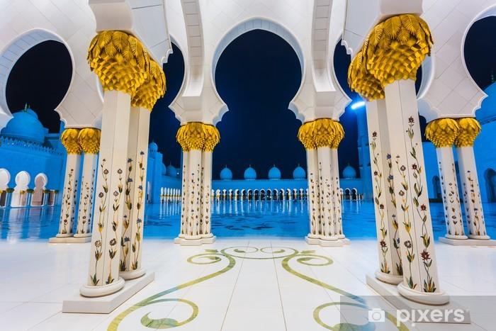 Naklejka Pixerstick Shaikh Zayed Meczet - Pejzaż miejski