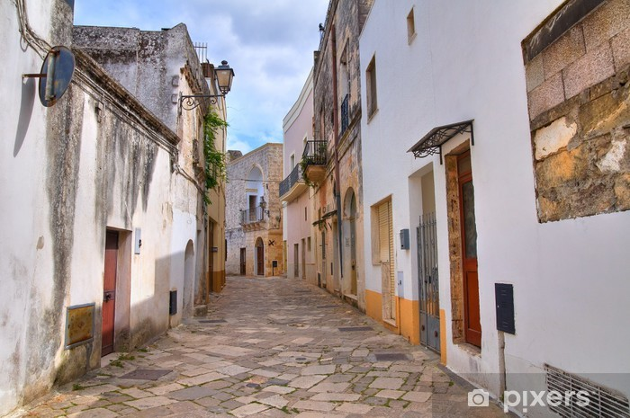 Alleyway. Tricase. Puglia. Italy. Vinyl Wall Mural - Themes
