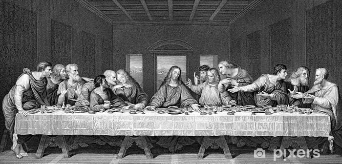 The Last Supper Vinyl Wall Mural - Themes