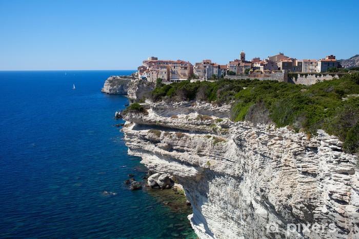 Naklejka Pixerstick Bonifacio Korsyka Francja - Tematy