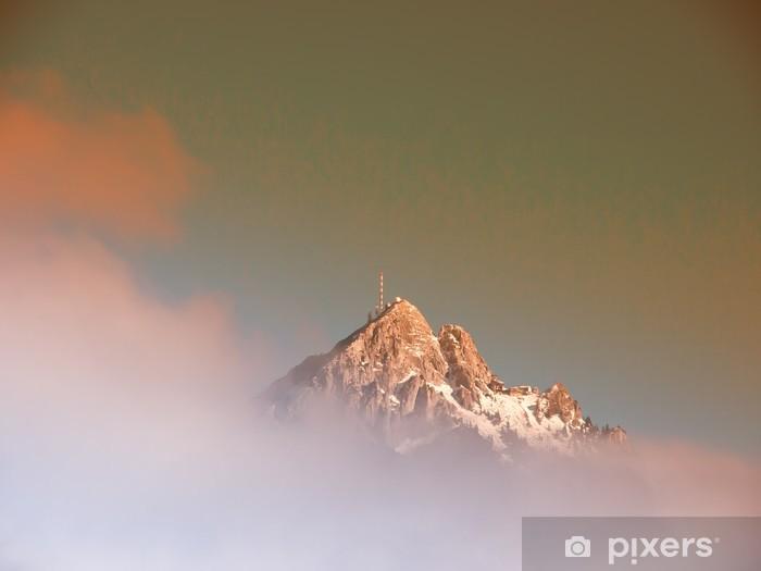Pixerstick Aufkleber Mountain wendelstein (21) - Freiluftsport
