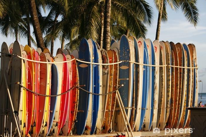 Mural de Parede em Vinil hawai - Feriados