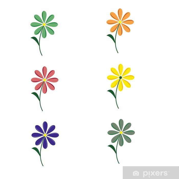 Naklejka Pixerstick Kwiat - Kwiaty