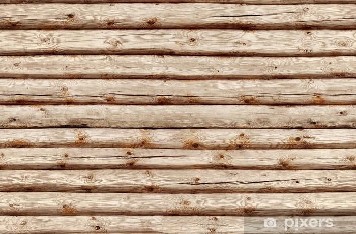 Papier Peint Transparence Carrelage Mur En Rondins De Bois Pixers