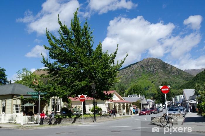 Carta da Parati in Vinile Arrowtown, Nuova Zelanda - Oceania