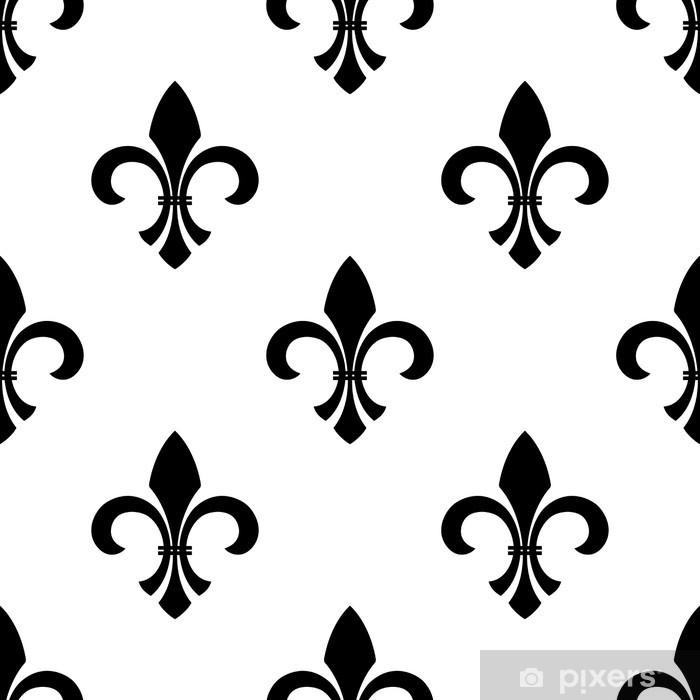 Fotomural Estándar Wallpaper Fleur De Lis Seamless
