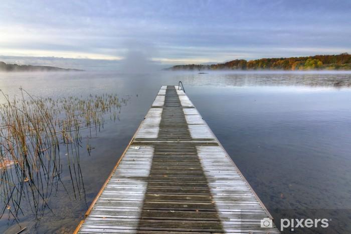 Nálepka Pixerstick Frozen Švédský most v měsíci říjnu - Evropa